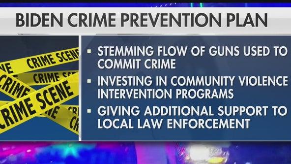 President Biden plans to reduce violent crime across the nation