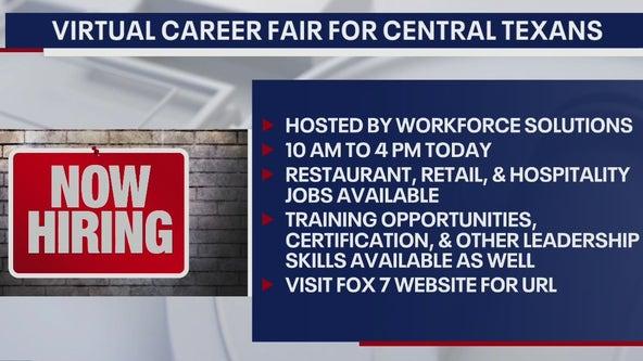 Workforce Solutions is currently hosting a virtual career fair