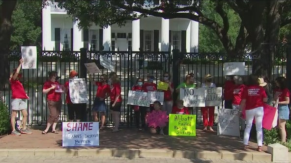 Governor Abbott's signing of a permitless carry bill leads to protest