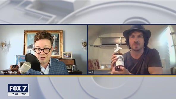 Ian Somerhalder talks Austin launch of 'Brother's Bond Bourbon'