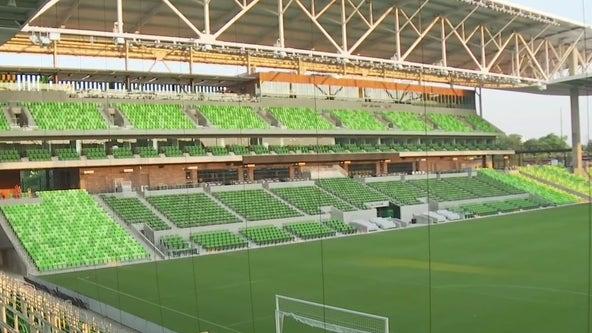 Concessions at Austin FC's Q2 Stadium