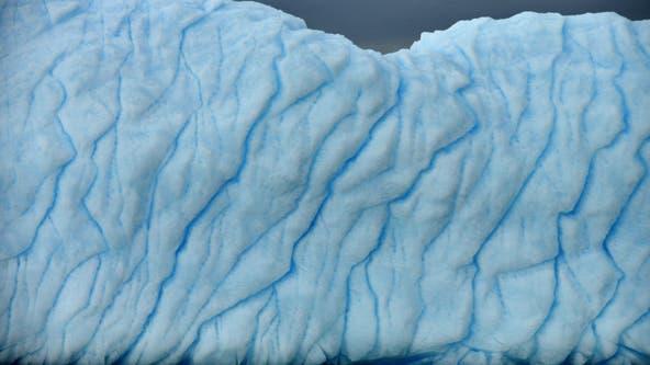 Antarctic glacier ice shelf shrank by one-fifth since 2017