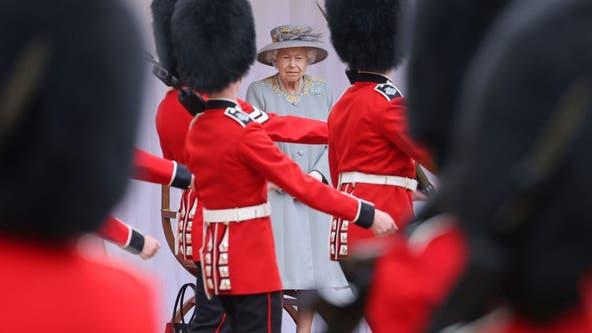 Trooping the Colour: Queen Elizabeth II takes in birthday parade after charming G-7 leaders