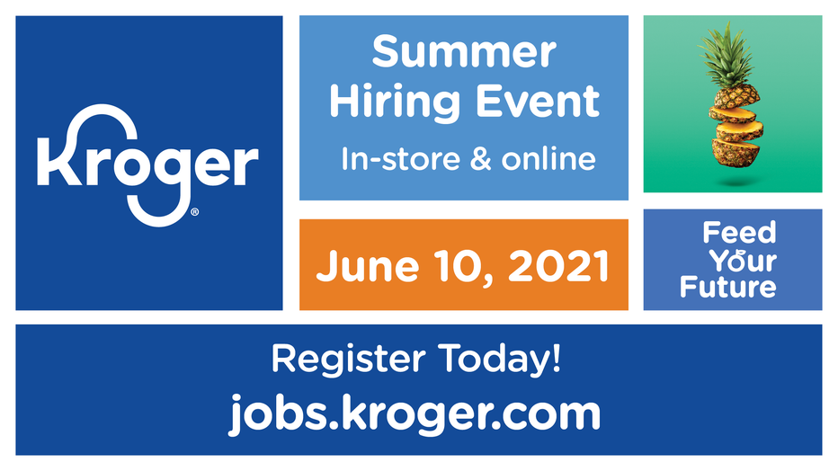 Kroger Summer Hiring Event