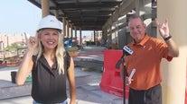 Texas women's basketball coach Vic Schaefer talks about The Moody Center