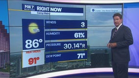 Noon weather forecast for July 22, 2021