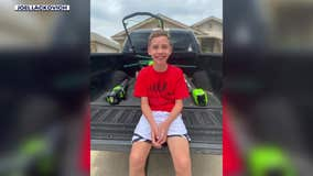Lawn mowing challenge inspires Austin 5th grader to help community