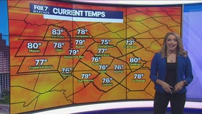 Noon weather forecast for July 9, 2021