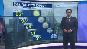 Noon weather forecast for July 2, 2021
