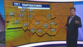 Noon weather forecast for July 21, 2021