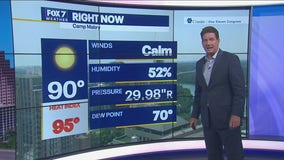 Noon weather forecast for July 26, 2021