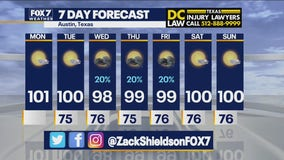 Morning weather forecast for July 26, 2021