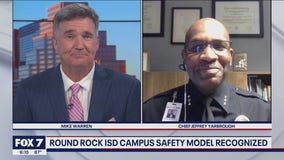 FOX 7 Discussion: Round Rock ISD police nationally recognized