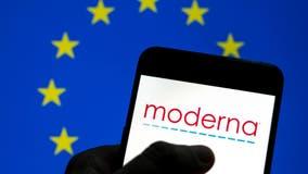 Moderna COVID-19 vaccine cleared in EU for children 12-17