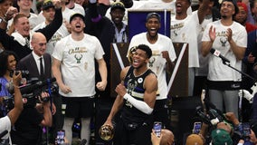 Giannis named 2021 Finals MVP, caps extraordinary postseason