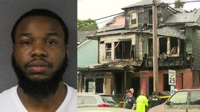 Man charged in deadly fire that killed his infant daughter, her grandparents