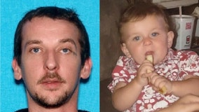 1-year-old found safe, father arrested after manhunt