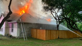 AFD responds to two house fires caused by lightning