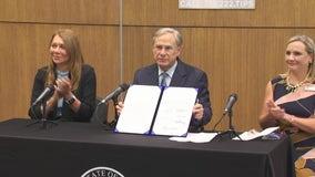 Texas governor ceremonially signs anti-fentanyl legislation in Houston