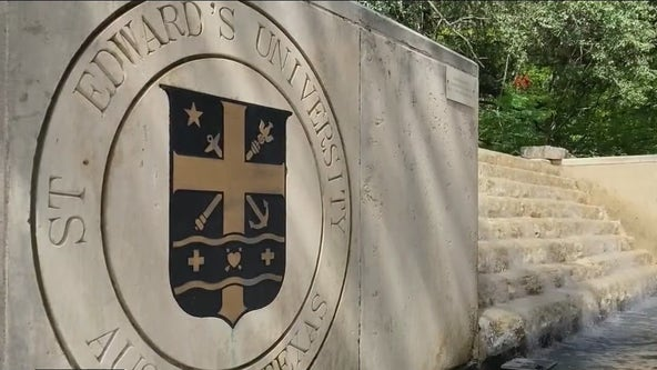 St. Edward's requires masks to be worn inside campus buildings