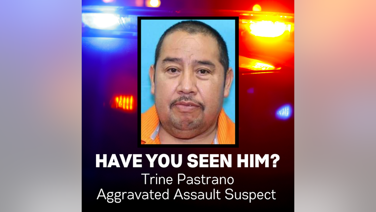 Pastrano fled the scene on foot before officers arrived. He was last seen wearing an orange polo, blue work pants, and black shoes.