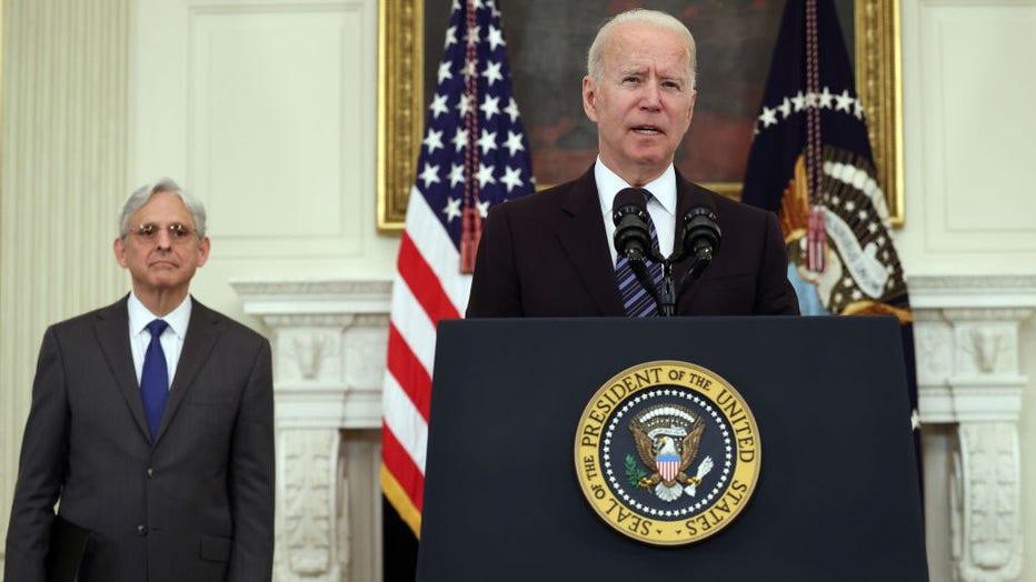671eb7a8-President Biden And Attorney General Garland Deliver Remarks On Gun Crime Prevention