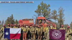 Texas A&M Forest Service helping battle Northwest wildfires
