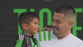 3-year-old Austin FC fan's celebration gains attention from club, MLS