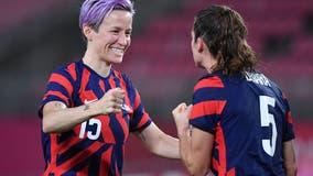 US women's soccer team defeats Australia, wins Olympic bronze medal