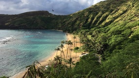 Hawaii governor urges visitors to stay away