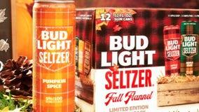 Bud Light rolls out pumpkin spice hard seltzer