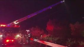 Passenger in fiery crash near Lake Travis still missing