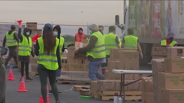 Upcoming Central Texas Food Bank drive-thru food distribution events