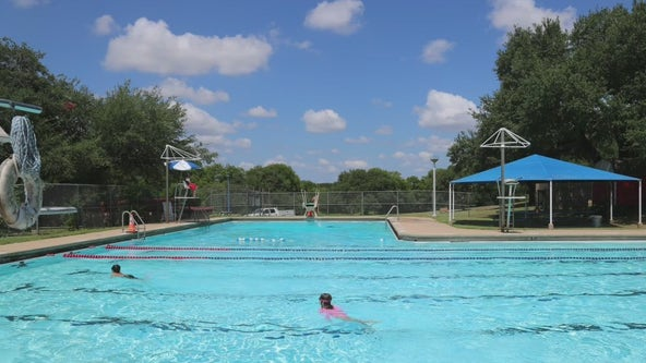 Cool off in one of Austin's many city pools this summer