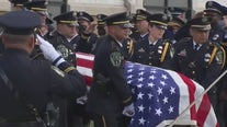 `Your dad was a hero': Austin Police Officer laid to rest