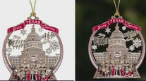 Texas Capitol Gift Shop releases 2021 commemorative holiday ornament
