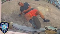 Tesla footage reveals man lied about getting hit by car, police say