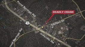 1 person dead, 2 injured after crash in Northwest Austin