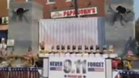 'Smoking' 9/11 float display draws criticism, GOP leaders apologize