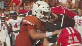 Texas head football coach Steve Sarkisian talks about Arkansas game
