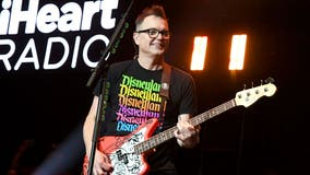 Blink-182 bassist Mark Hoppus says he is cancer free