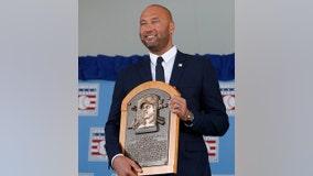 Derek Jeter Hall of Fame enshrinement