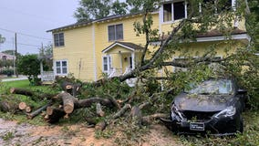 NICHOLAS IMAGES: A look at the damage in southeast Texas