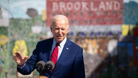President Biden visits DC middle school to talk COVID-19 vaccines, in-person learning