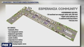 New transitional shelter complex being built at Esperanza Community