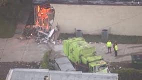 Garbage truck crash reveals suspected illegal marijuana grow operation in Sterling Heights