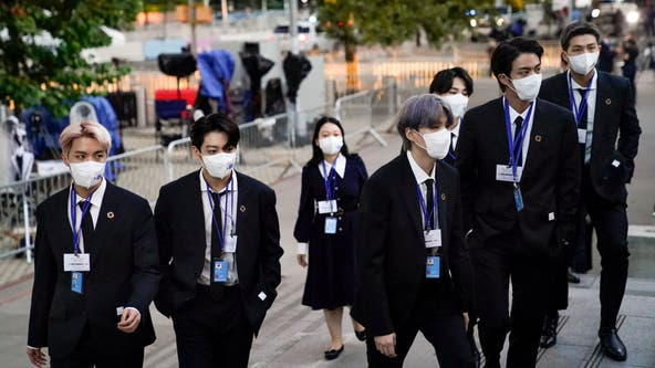 K-pop stars BTS talk climate change, COVID-19 vaccines in UN speech