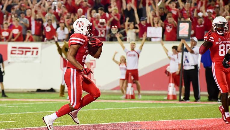 NCAA FOOTBALL: OCT 15 Tulsa at Houston