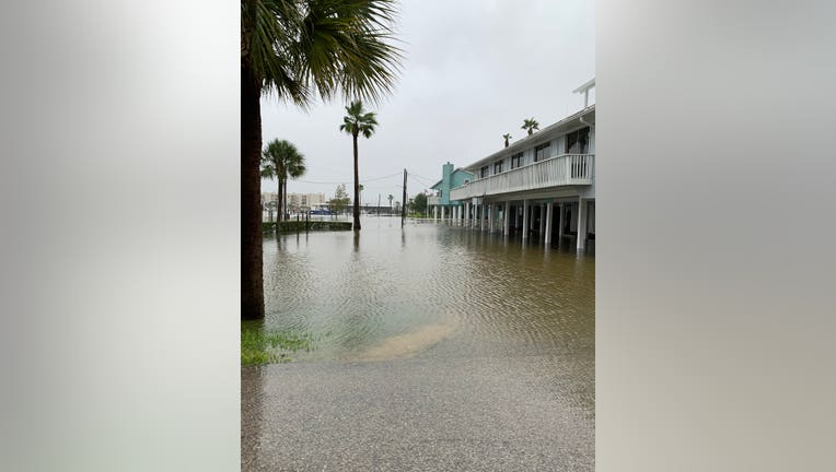 High water in Clear Lake Shores