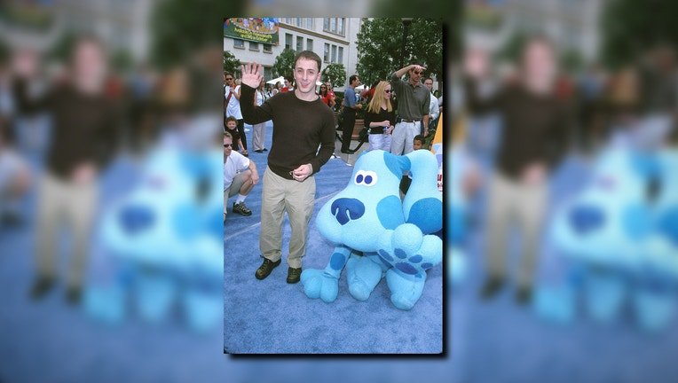 Steve and Blue